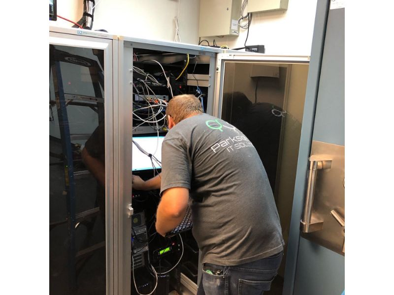 Wiring IT cabling
