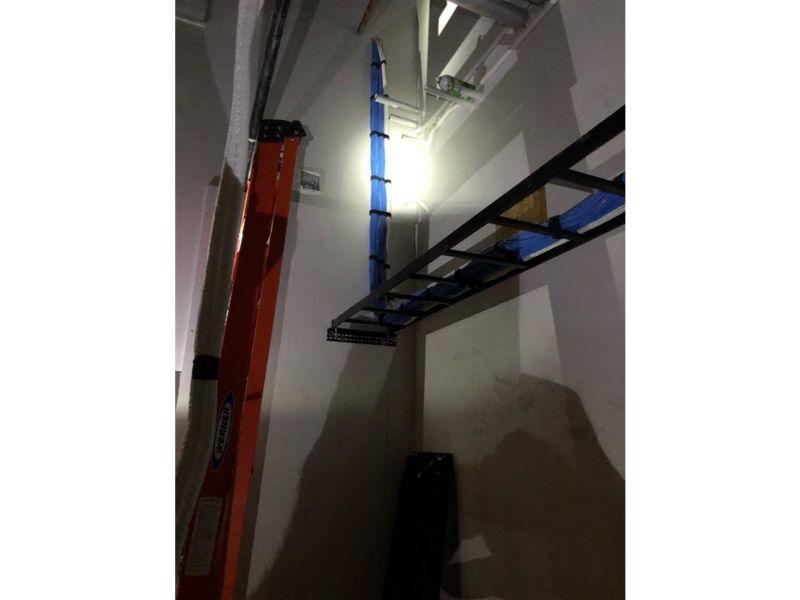 Wiring job rack