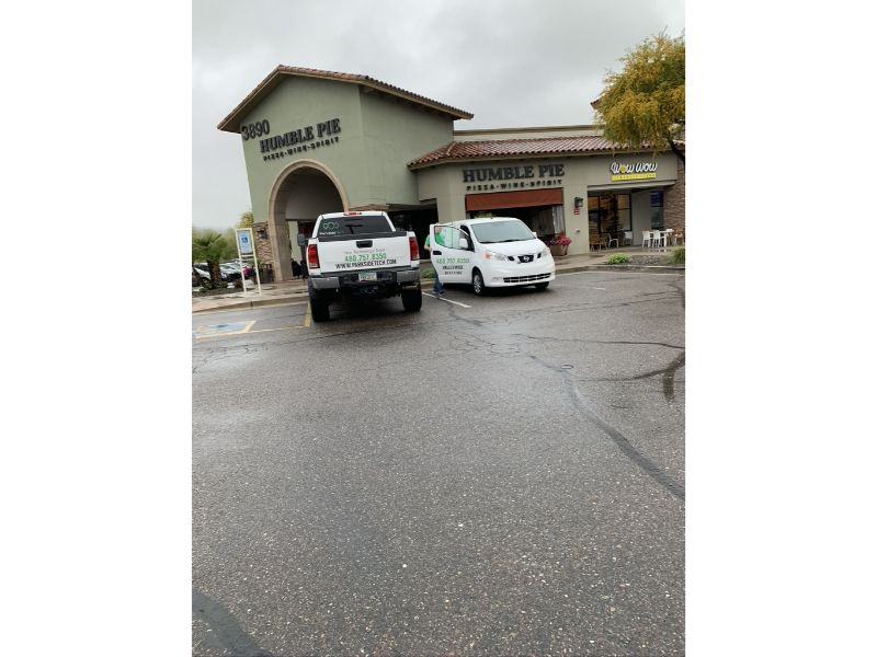 Managed IT Service van parked